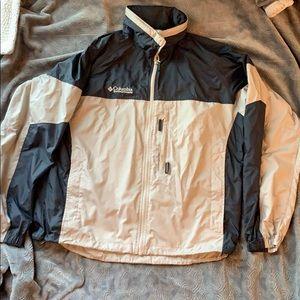 Columbia packable windbreaker fall coat jacket M